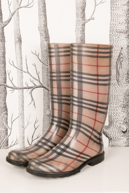 Rubberboots from Burberry