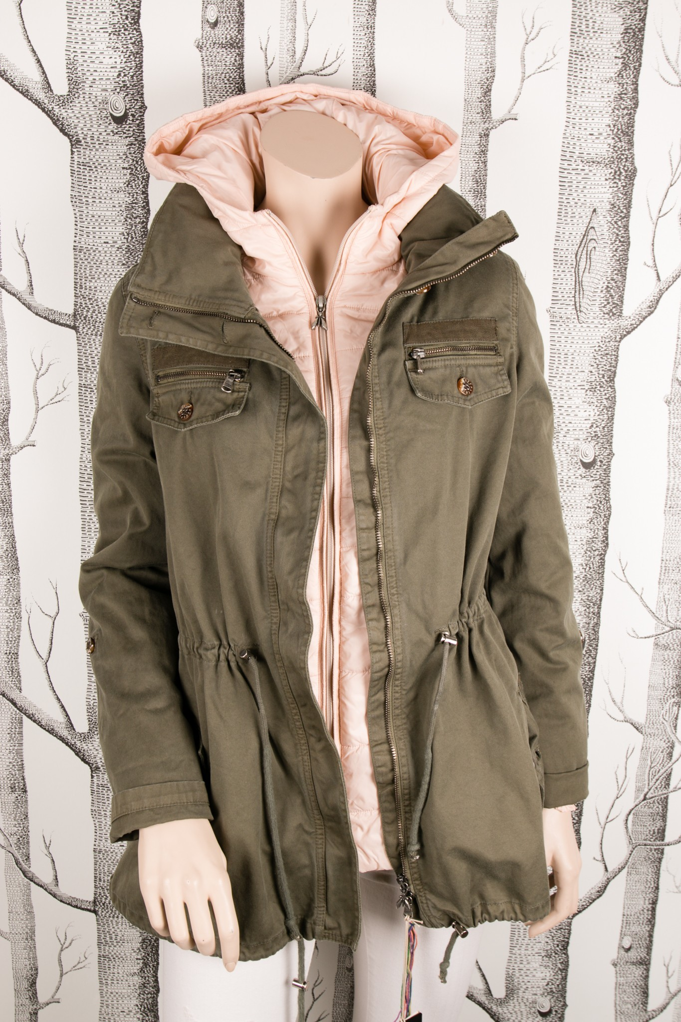 low priced b5d96 32708 Jacket 2 in one from Patrizia Pepe - A Piece Lux