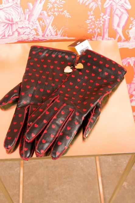 Gloves from Moschino