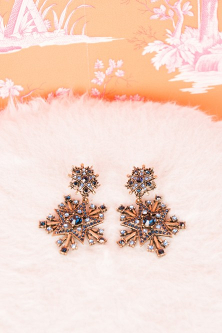 Earrings from Melange de Lux