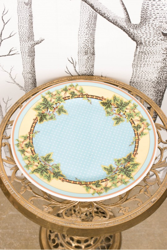 Dinner plate from Rosenthal Versace